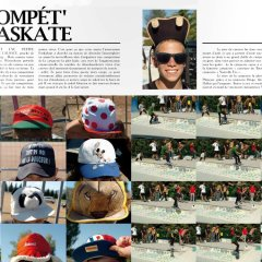 Article Soma Contest Skate et Casquette 2009 Wittenheim