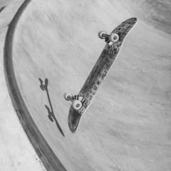 Planche skate dans Bowl Attack 2014