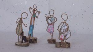 Sculpture pour coffret cadeau bien-être Draveil