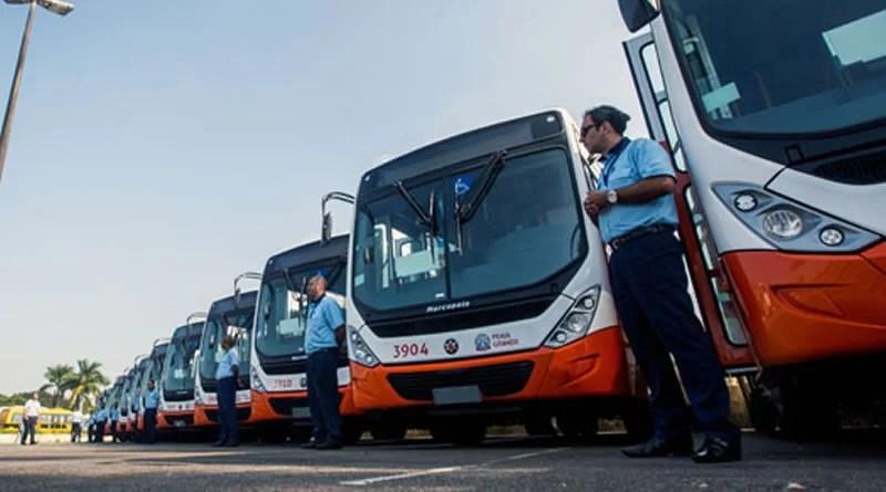 frota de transporte municipal