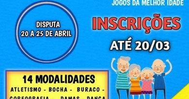Peruíbe abre inscrições para Jogos Regionais da Melhor Idade