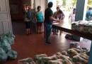 Peruíbe realiza ação social de distribuição de cestas básicas