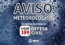 Defesa Civil de Mongaguá emite alerta para frente fria