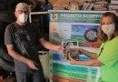 Prefeitura de Peruíbe realiza parceria na implantação de projeto ambiental de reciclagem de pneus