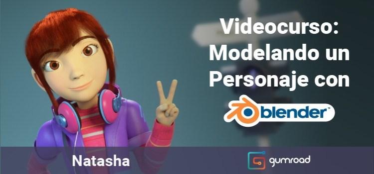 Videocurso de Blender: Modelando un Personaje 3D