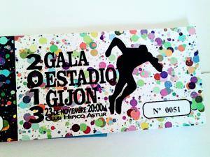 Entrada Gala Estadio Gijon