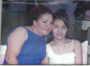 Diana Calderon Bravo y mama
