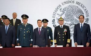 50 años de servir a México. Foto: Presidencia