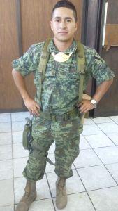Teniente Aldo. Foto: Especial