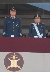 Salvador Cienfuegos y García Ochoa. Foto: Sedena