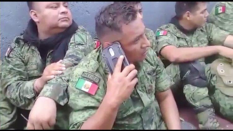 Militares aseguran dos rifles antiblindaje en La Huacana  Lahuacana01_190527