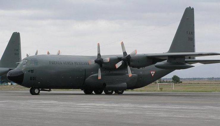 La Fuerza Aérea Mexicana limita sus vuelos y da prioridad a Plan DN-III-E