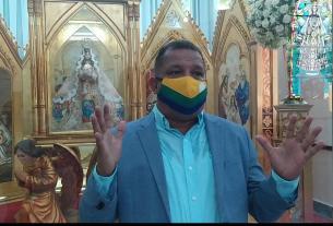 EL Gobernador Alfredo Diaz