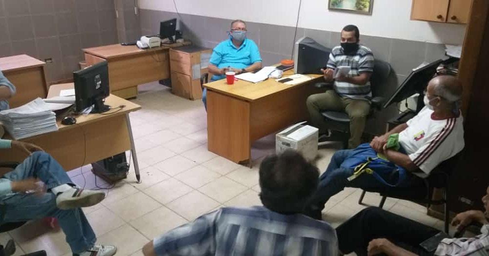 Reunión entre el Sindicato y la Gobernación del estado