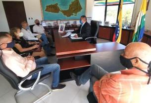 El gobernador Alfredo Díaz ofreció respaldo a la recién creada comisión para el fortalecimiento del municipio Arismendi