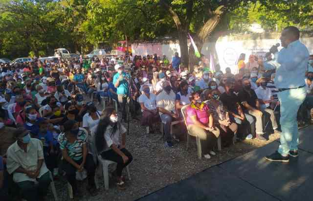 El pueblo del municipio Díaz ha sidobeneficiado con los logros del gobernador Alfredo Díaz