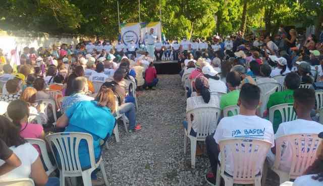 El respaldo popular para el gobernador deNueva Esparta, sigue siendo indetenible