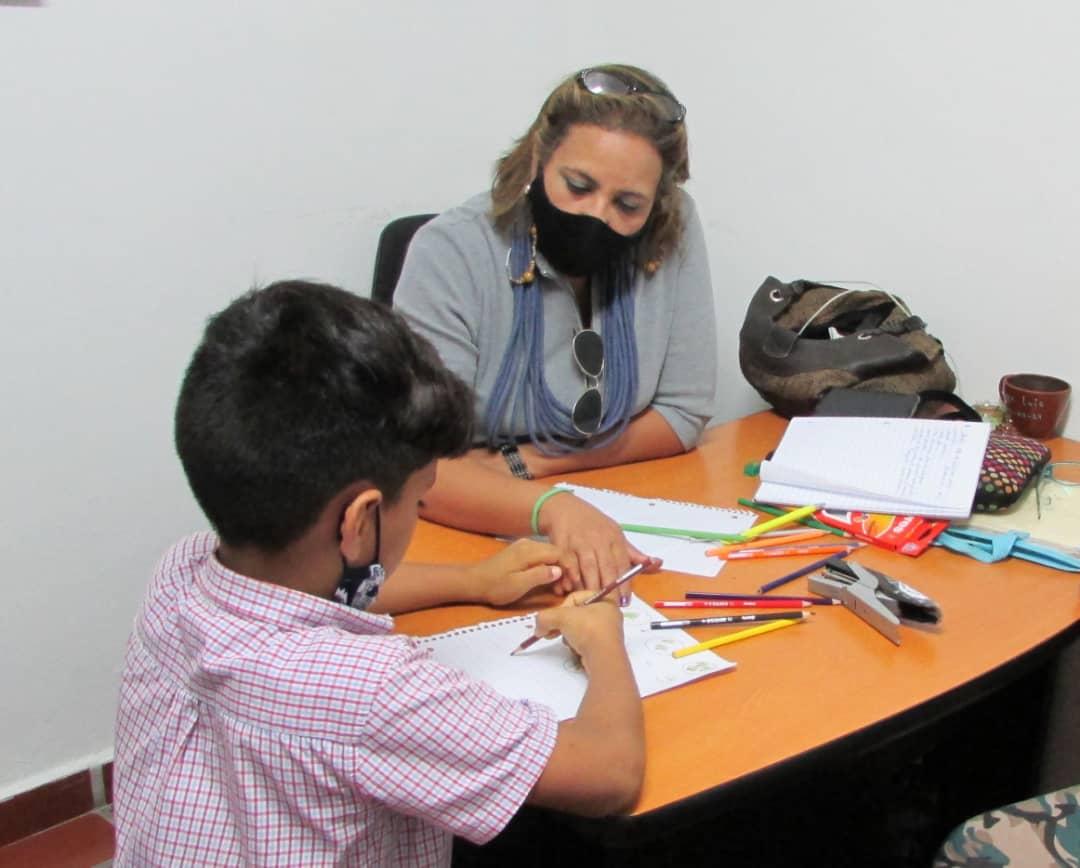 Las citas con nuestros psicopedagogos se solicitan todos los martes y jueves en semanas flexibilizadas, en la sede de la Funsone