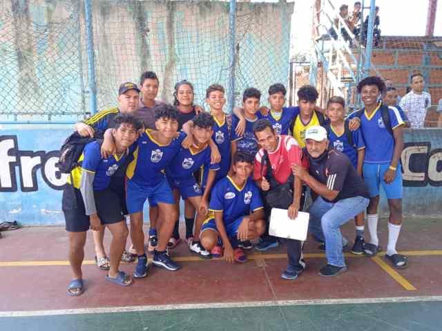 Villa Rosa fue el equipo ganador de la categoría Sub16