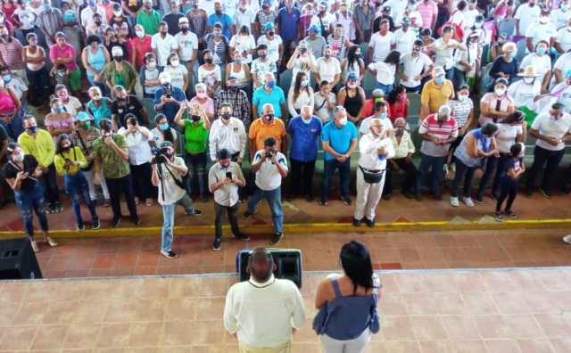 El mandatario regional reiteró su compromiso con el desarrollo del estado