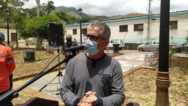 Frank Cortez, presidente de la Asociación de Médicos Especialistas del hospital Luis Ortega, describió los riesgos del personal sanitario