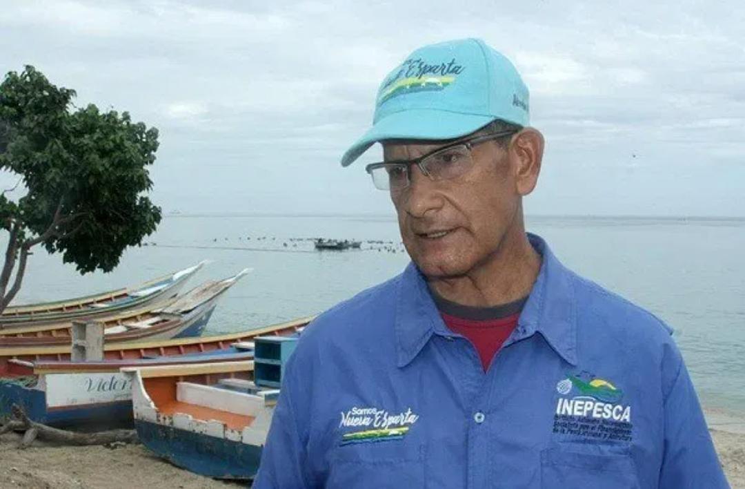 Paúl Bermúdez, presidente del Instituto Neoespartano de Pesca