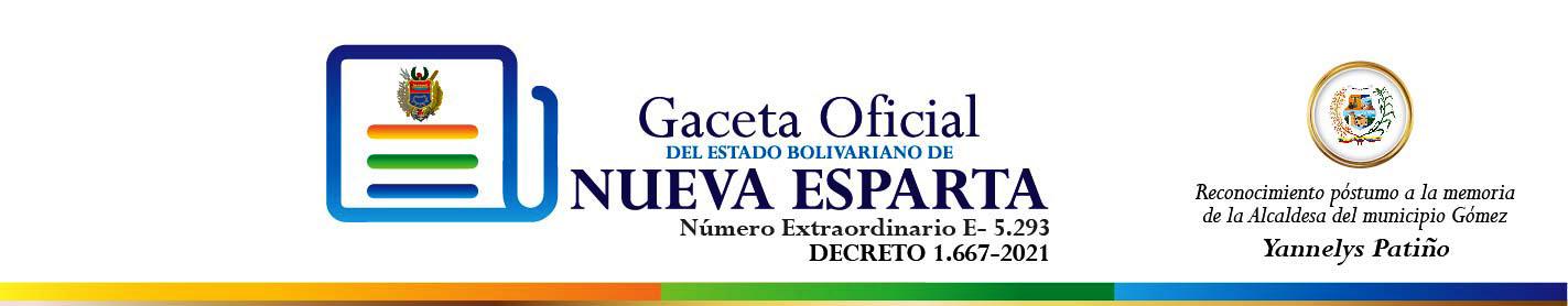 Gaceta Oficial del estado Nueva Esparta