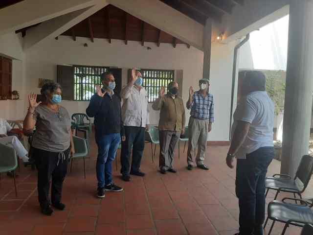 Nicola Penna secretario general de gobierno juramentó a la comisión centenaria del natalicio Maestro Jesús Manuel Subero