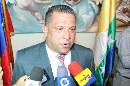 Gobernador de Nueva Esparta Alfredo Díaz.