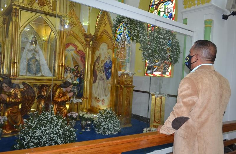Gobernador pidió a la Virgen del Valle reconciliación para toda Venezuela