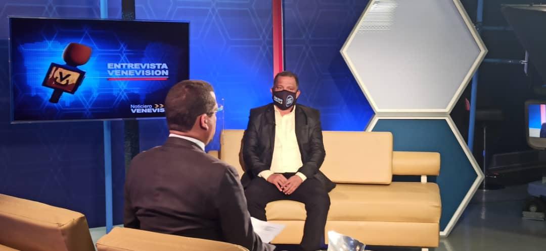 Gobernador Alfredo Diaz en Venevision