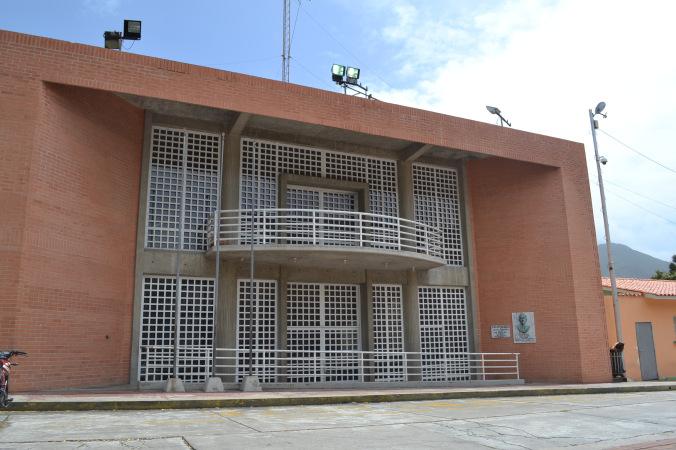 """El Centro de Artes """"Omar Carreño"""" de La Asunción."""