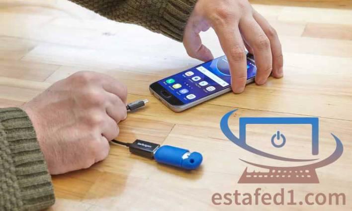 4 طرق مختلفة لتصفح ملفات هارد خارجي أو فلاشة USB على الموبايل وأيضا نقل الملفات بينهما1