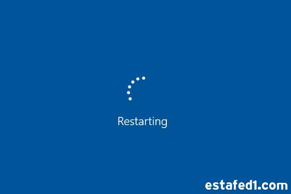 الفرق بين restart و reboot