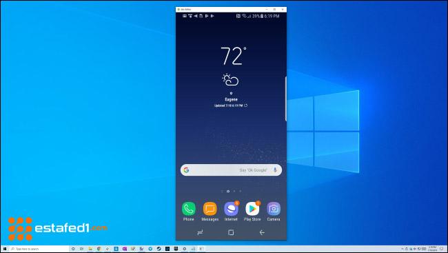 عرض شاشة الأندرويد على الكمبيوتر عن طريق scrcpy