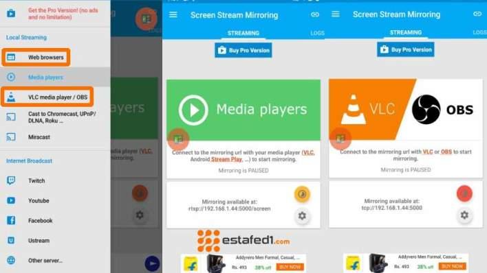 MobZapp | عرض الموبايل على شاشة الكمبيوتر من خلال WIFI