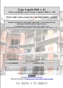 Aggiornamento D.Lgs. 81/2008