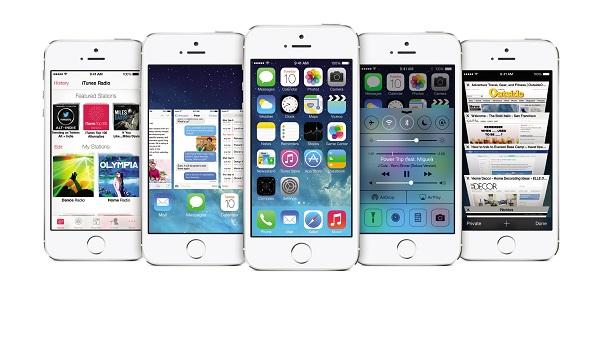 iOS 7 iPhone5s