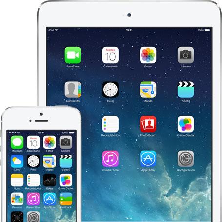 iOS7 iPad iPhone