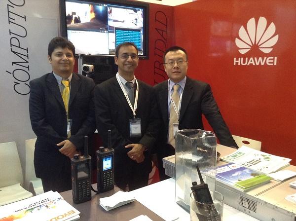 Huawei en LAPS 2013