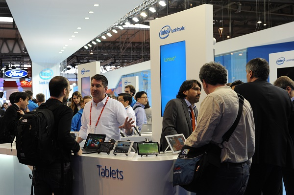 Intel - MWC - Barcelona