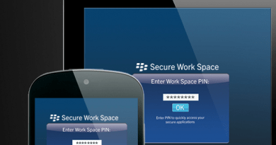 Secure Work Space - BES10