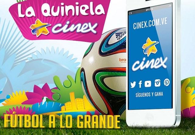 Quiniela Cinex