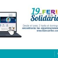 Bancaribe realiza la 19na. edición de su Feria de la Solidaridad en formato virtual