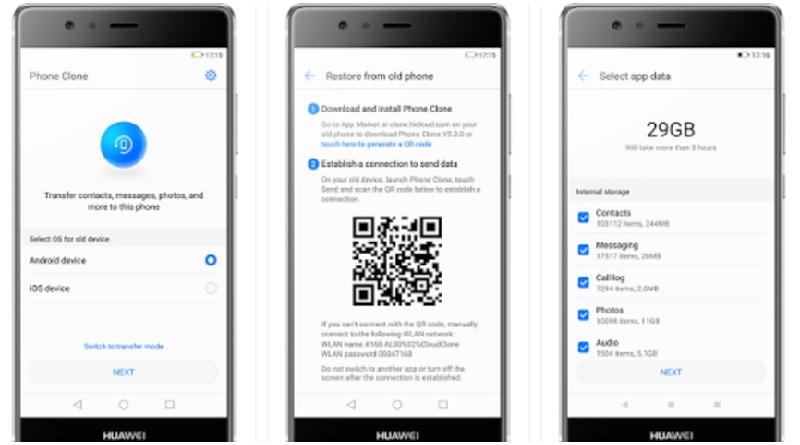 Phone Clone: la manera fácil para pasar información entre