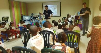 Voluntarios de Telefónica Movistar Desafío Solidario en Quibdó
