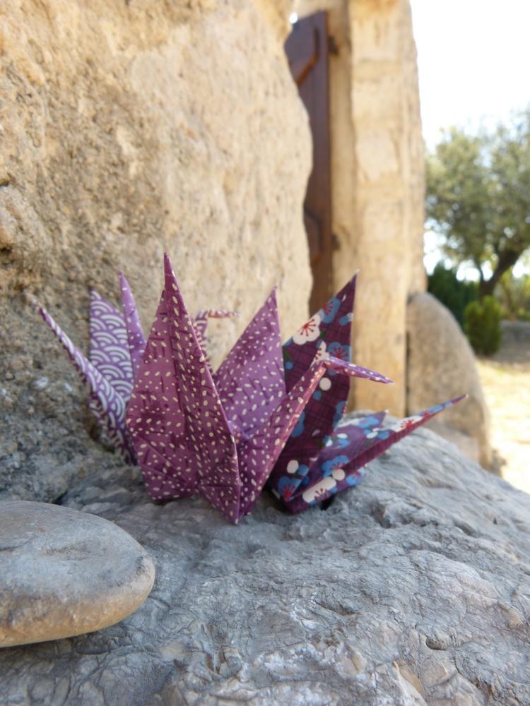 Maison familiale, origamis et retrouvailles