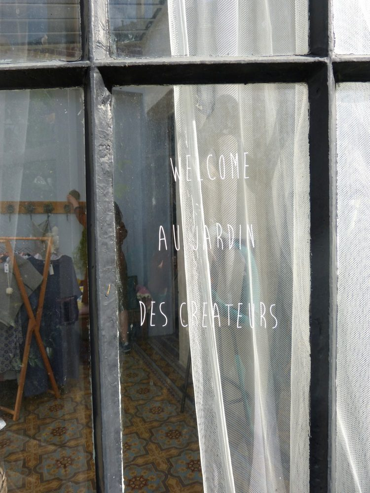Une vente printanière au Jardin des Créateurs