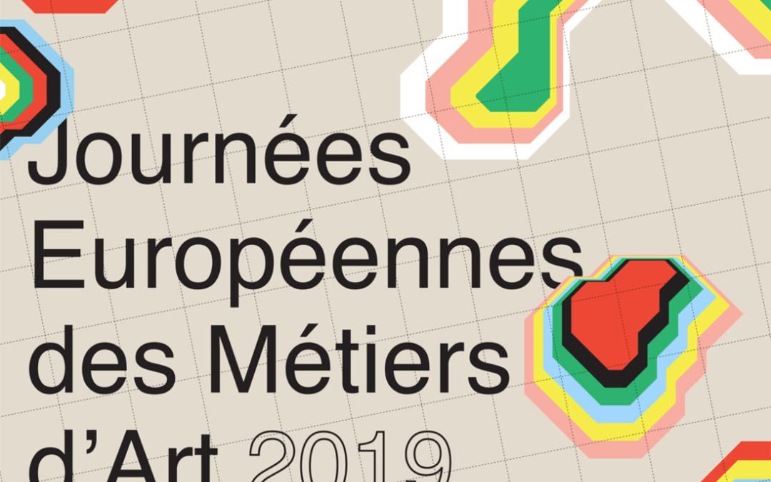 Les Journées Européennes des Métiers d'Art