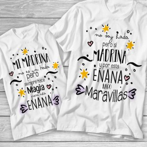 Pack camisetas Madrina Maravillas